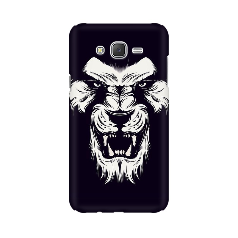 Angry Wolf Samsung Galaxy J7 Mobile Cover Case