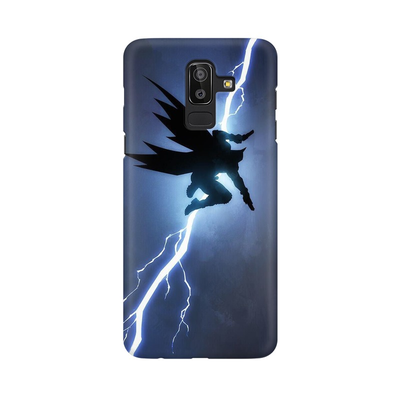 Batman Thunder Samsung Galaxy J8 Mobile Cover Case