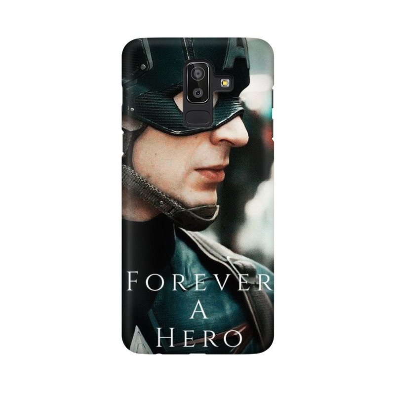 A True Hero Captain America Samsung Galaxy J8 Mobile Cover Case