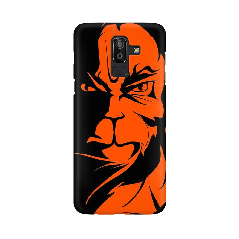 Angry Hanuman Samsung Galaxy J8 Mobile Cover Case