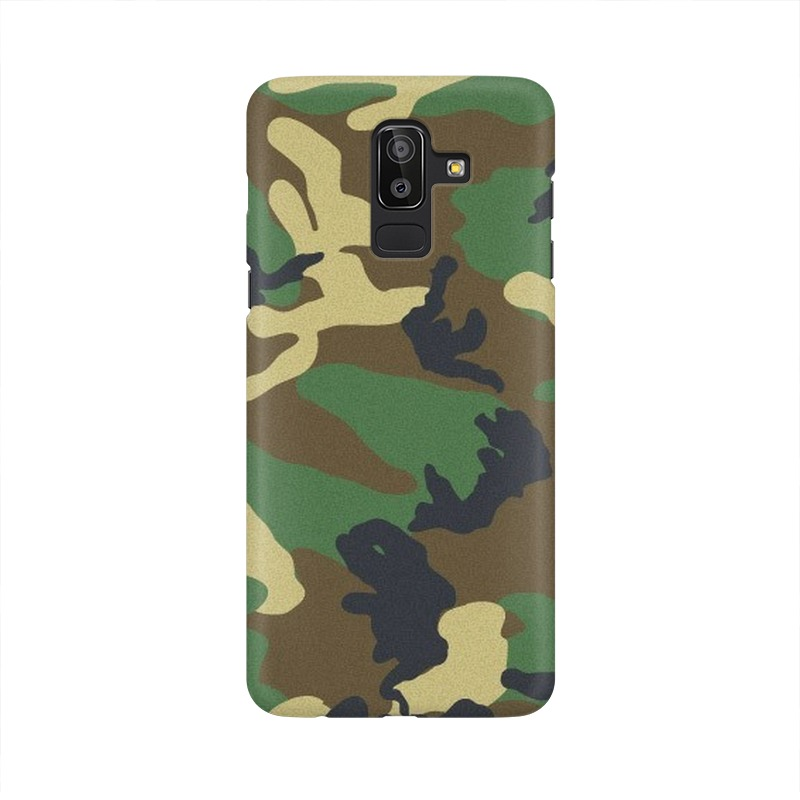 Army Texture Samsung Galaxy J8 Mobile Cover Case