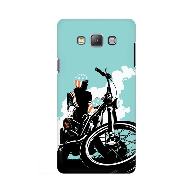 American Biker Samsung Galaxy On5 pro Mobile Cover Case