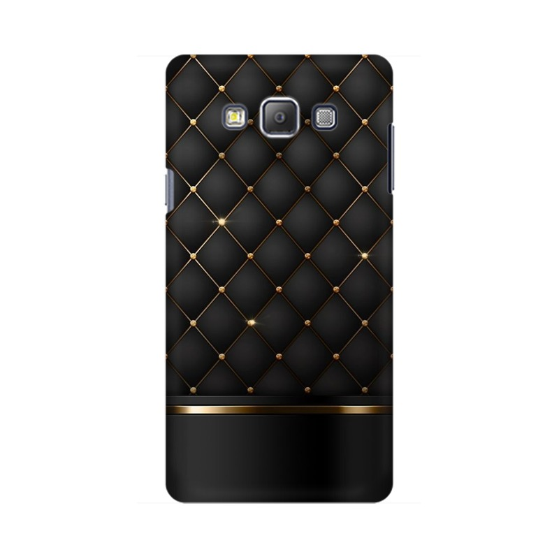 Black Gold Shine Texture Samsung Galaxy On5 Pro Mobile Cover Case