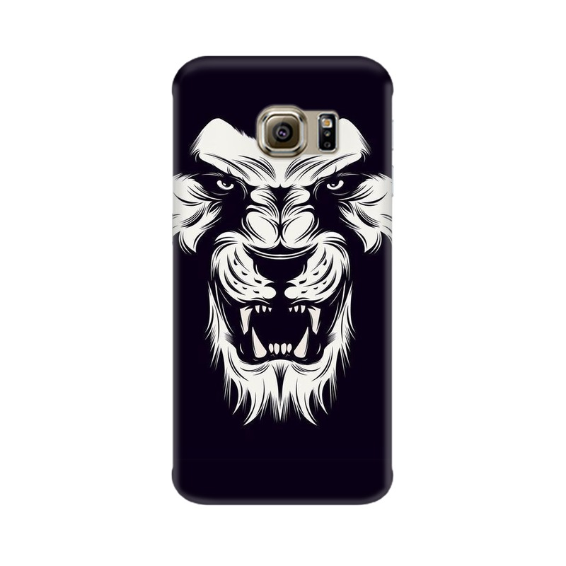 Angry Wolf Samsung Galaxy S6 Edge Mobile Cover Case
