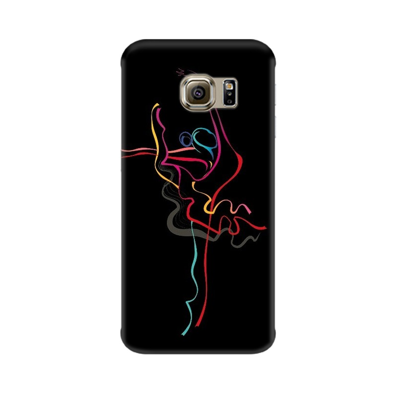 Abstract Dance Samsung Galaxy S6 Edge Mobile Cover Case