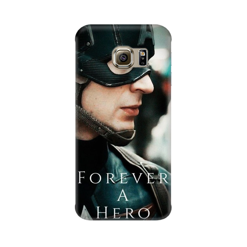 A True Hero Captain America Samsung Galaxy S6 Edge Mobile Cover Case