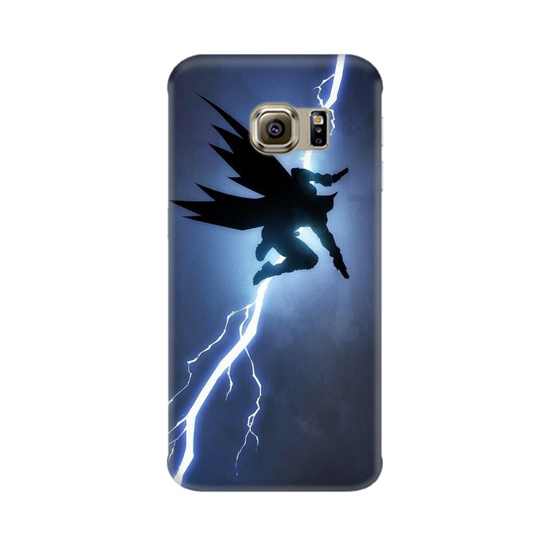 Batman Thunder Samsung Galaxy S6 Edge Mobile Cover Case