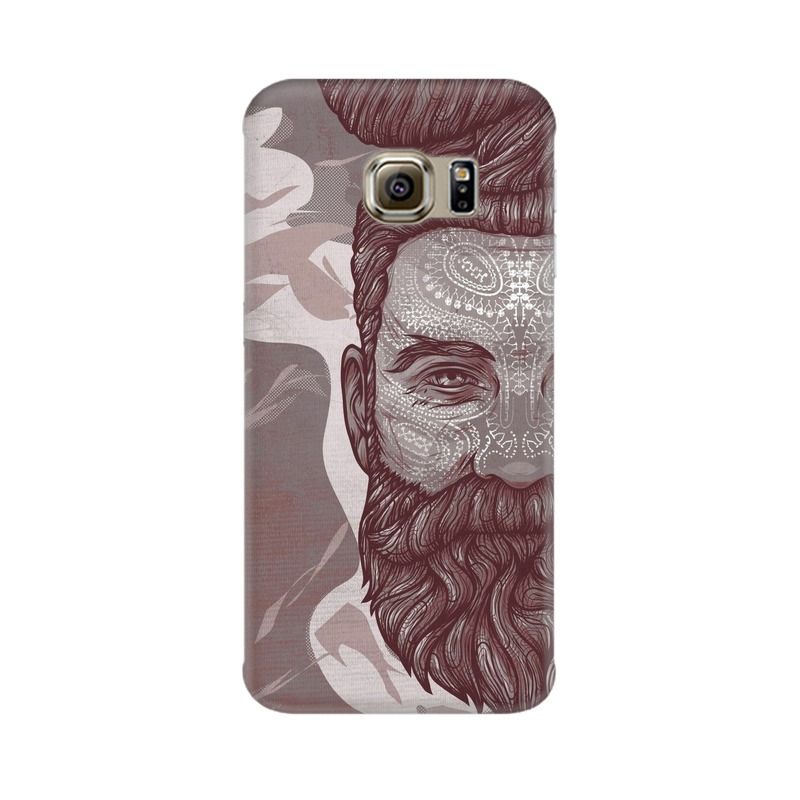 Beardo Man Samsung Galaxy S6 Edge Mobile Cover Case