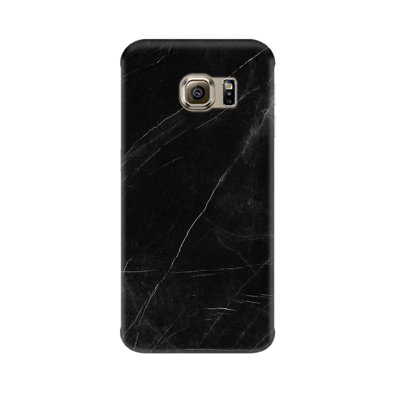 Black stone Samsung Galaxy S6 Edge Mobile Cover Case