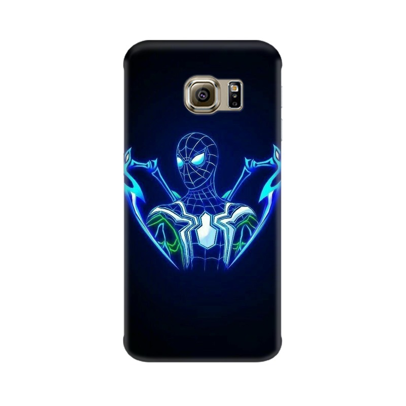 Black Spiderman Samsung Galaxy S6 Edge Mobile Cover Case