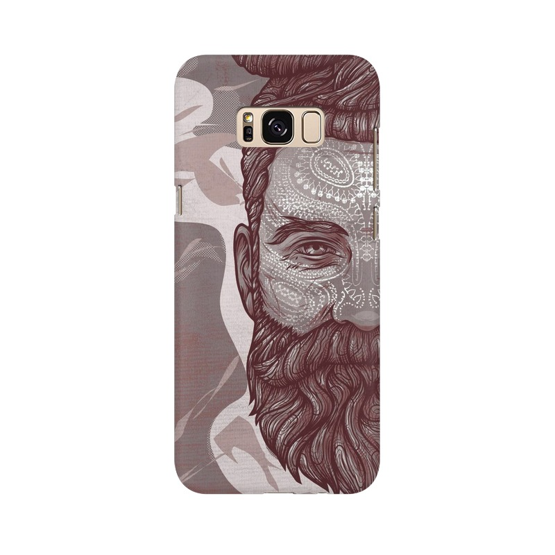 Beardo Man Samsung Galaxy S8 Plus Mobile Cover Case