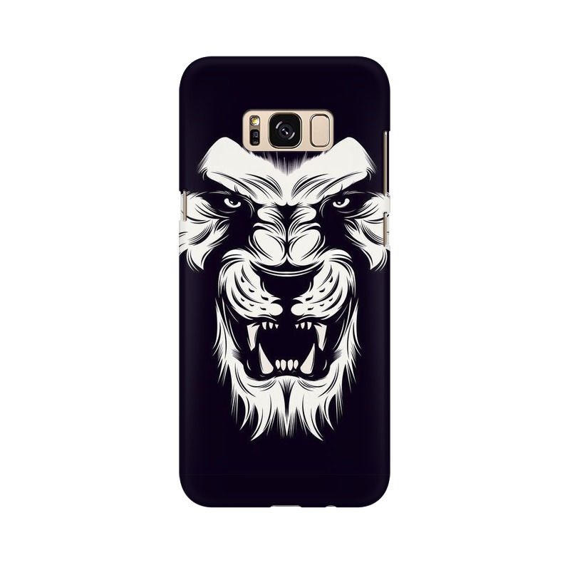 Angry Wolf Samsung Galaxy S8 Plus Mobile Cover Case