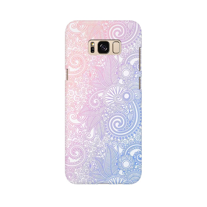 Beautiful rangoli Samsung Galaxy S8 Plus Mobile Cover Case