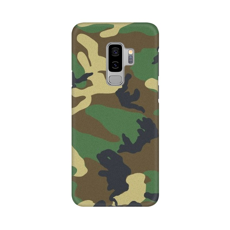 Army Texture Samsung Galaxy S9 Plus Mobile Cover Case