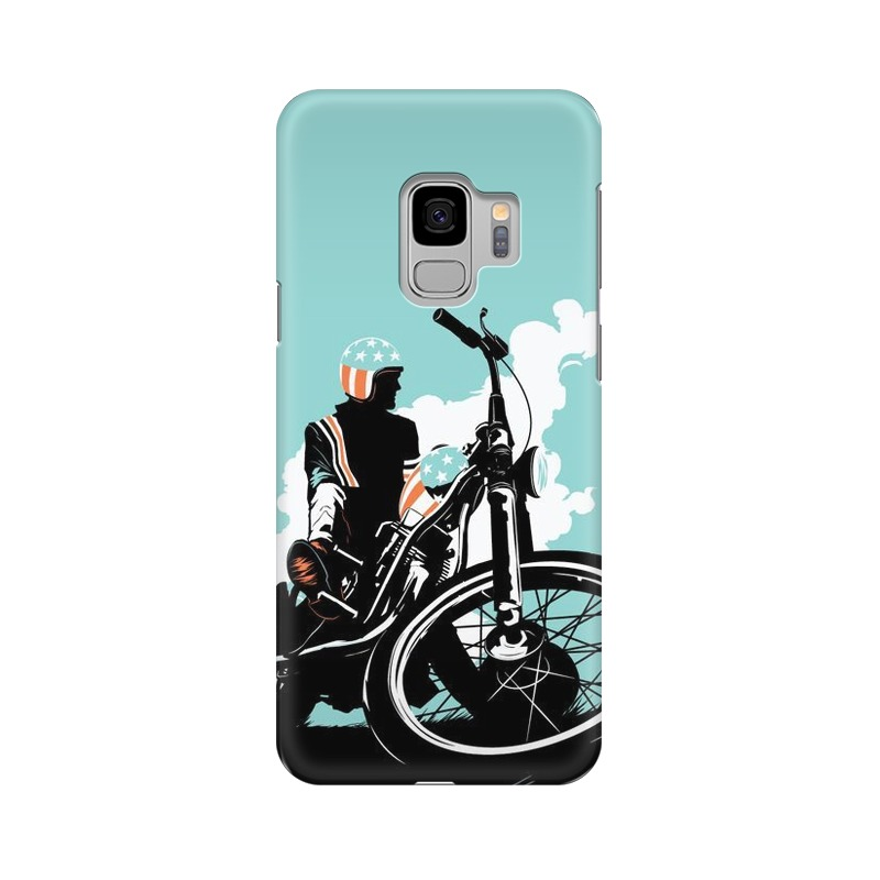 American Biker Samsung Galaxy S9 Mobile Cover Case