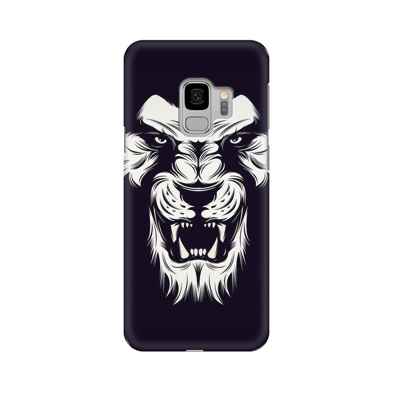 Angry Wolf Samsung Galaxy S9 Mobile Cover Case