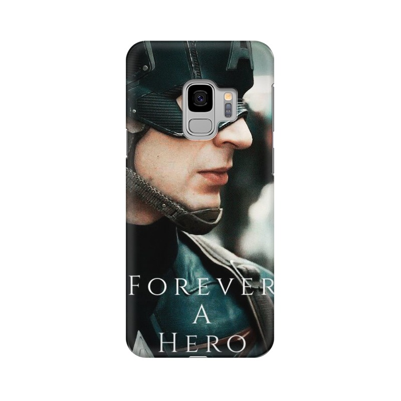 A True Hero Captain America Samsung Galaxy S9 Mobile Cover Case