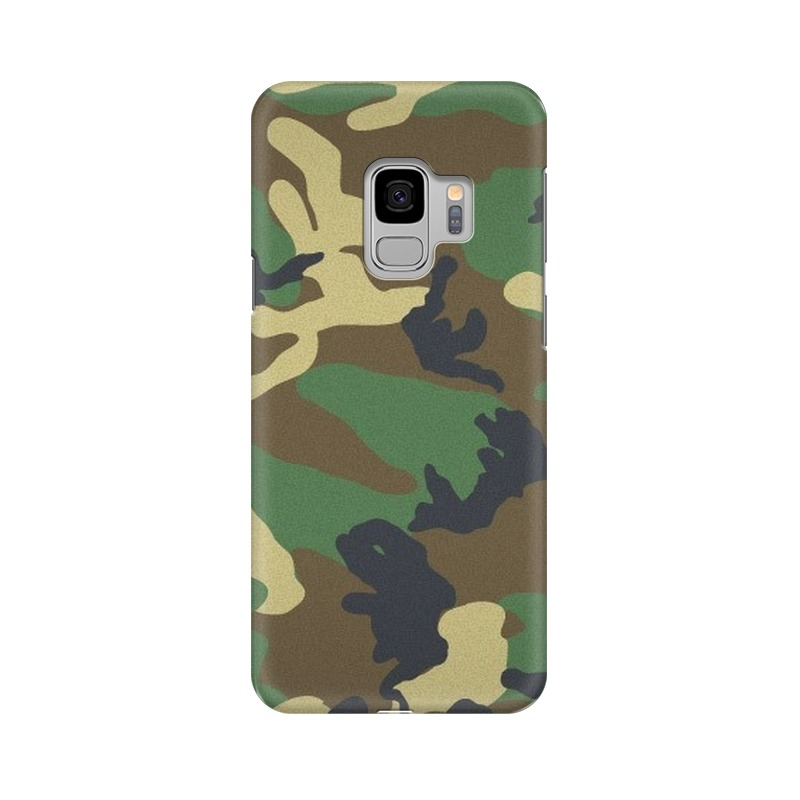 Army Texture Samsung Galaxy S9 Mobile Cover Case