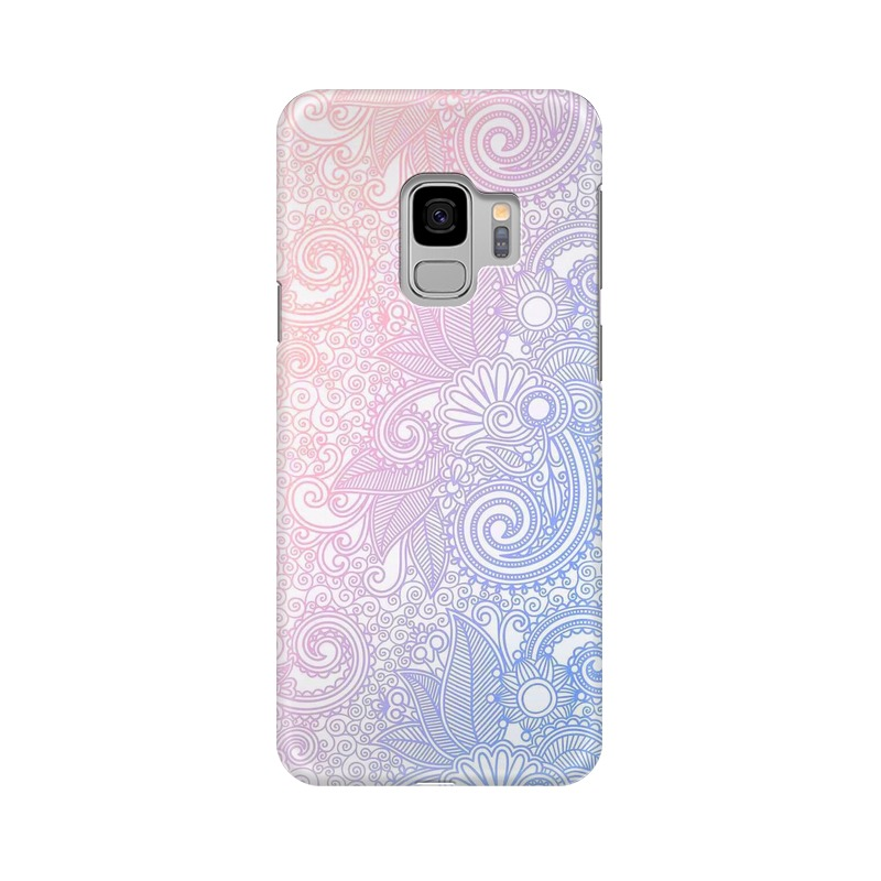 Beautiful rangoli Samsung Galaxy S9 Mobile Cover Case