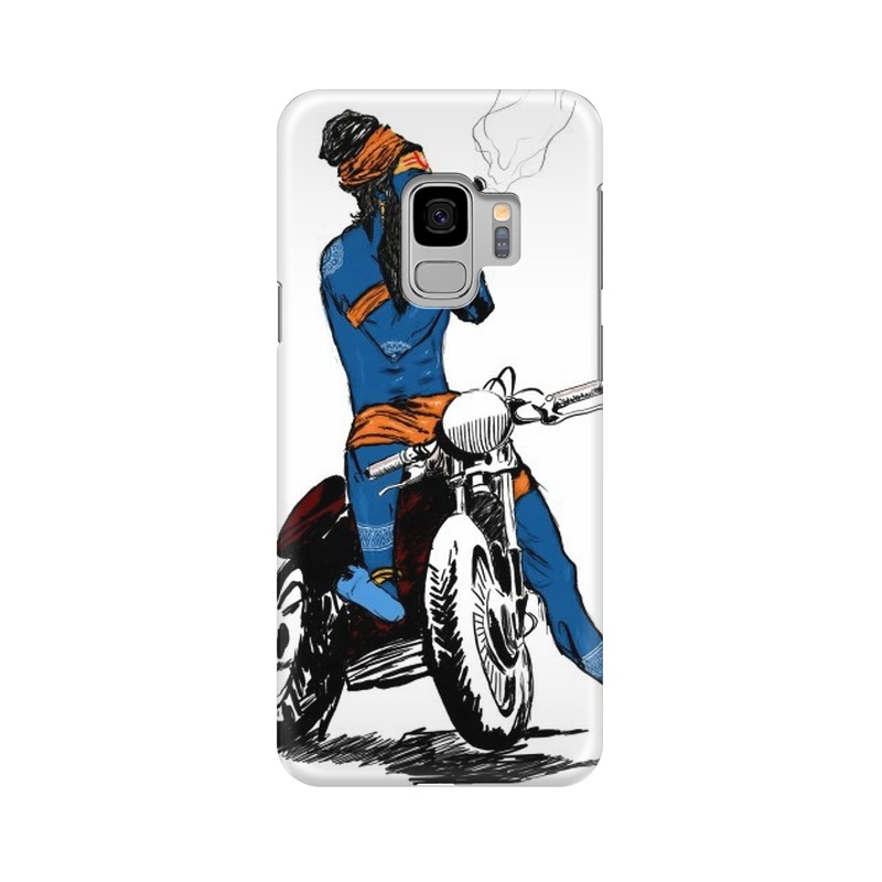 Biker Shiva Samsung Galaxy S9 Mobile Cover Case