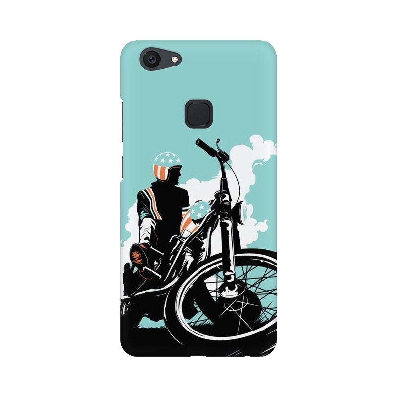 American Biker Vivo V7 Mobile Cover Case