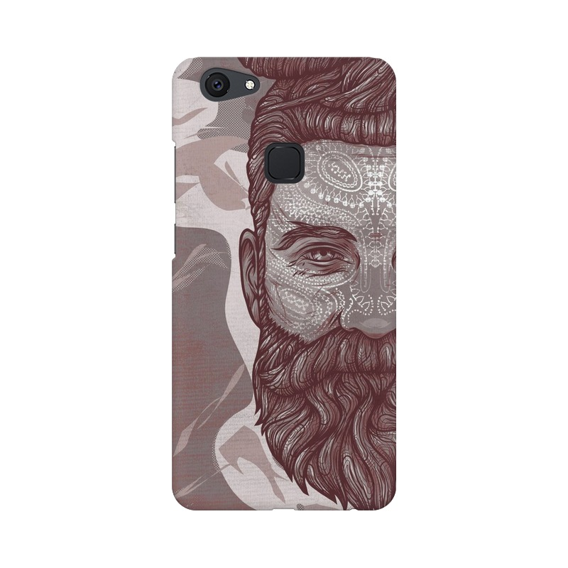 Beardo Man Vivo V7 Mobile Cover Case