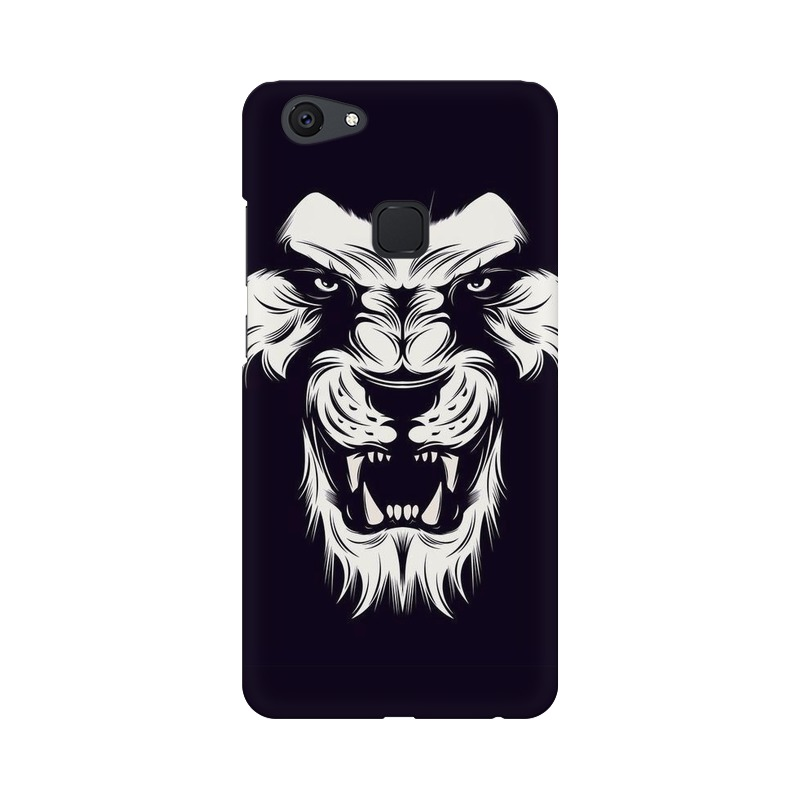 Angry Wolf Vivo V7 Mobile Cover Case