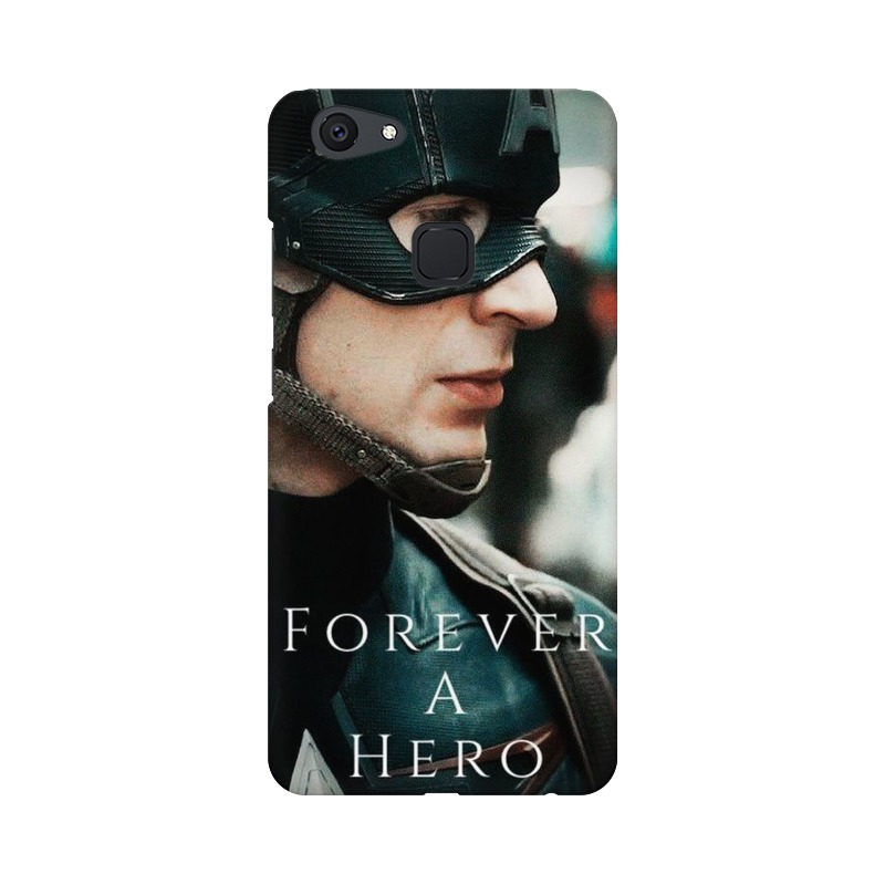 A True Hero Captain America Vivo V7 Mobile Cover Case