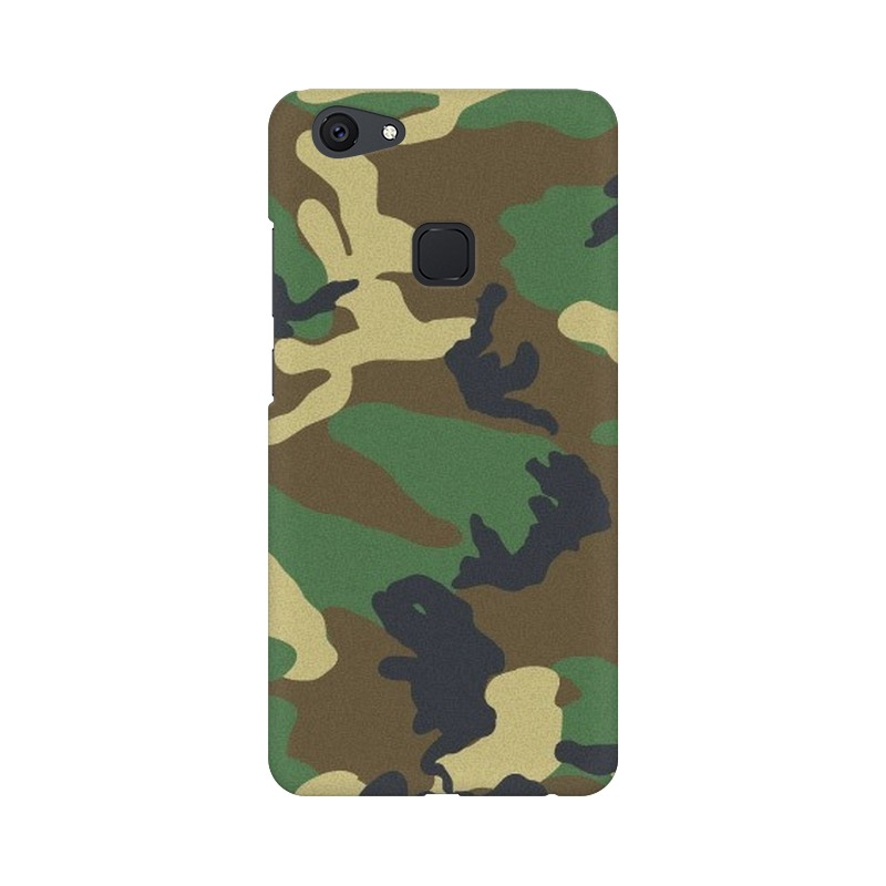 Army Texture Vivo V7 Mobile Cover Case