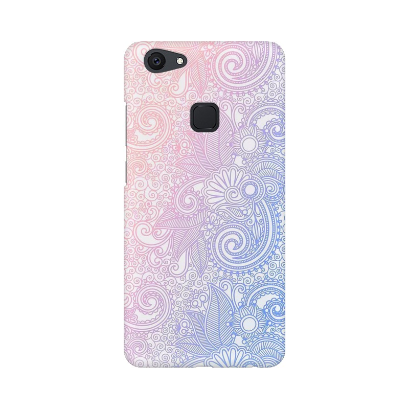 Beautiful rangoli Vivo V7 Mobile Cover Case