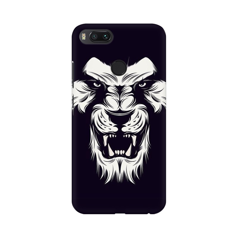 Angry Wolf Xiaomi Mi A1 Mobile Cover Case