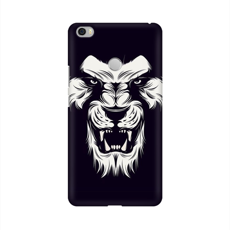 Angry Wolf Xiaomi Mi Max Mobile Cover Case