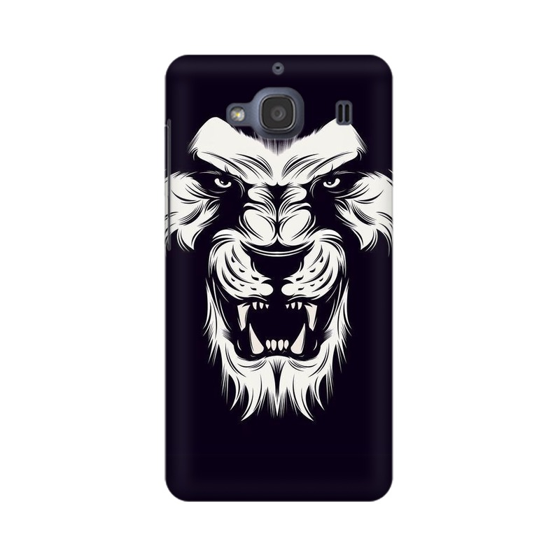 Angry Wolf Xiaomi Redmi 2s Mobile Cover Case