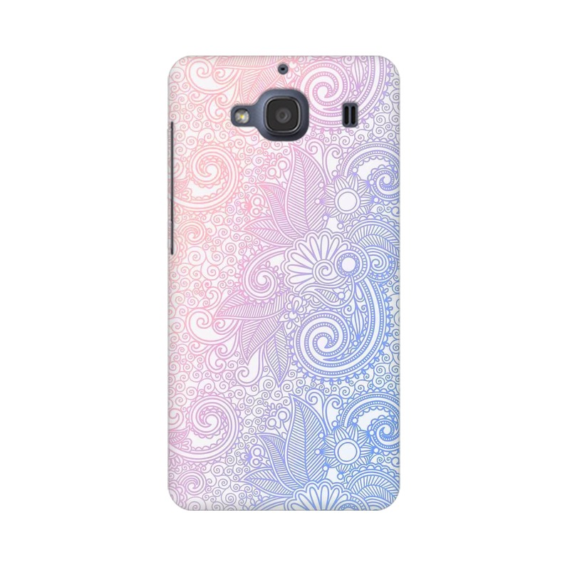 Beautiful rangoli Xiaomi Redmi 2s Mobile Cover Case