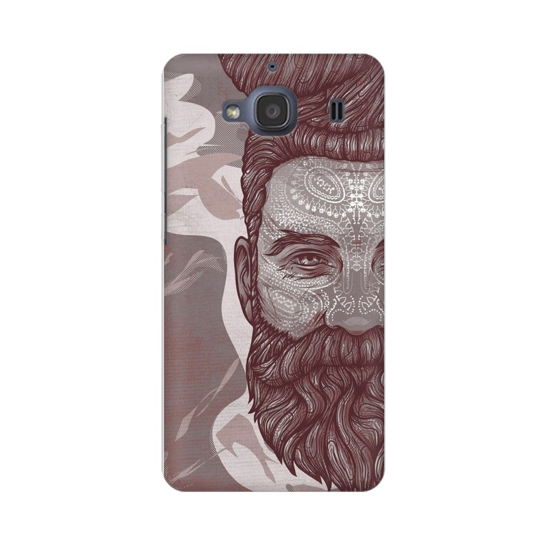 Beardo Man Xiaomi Redmi 2s Mobile Cover Case