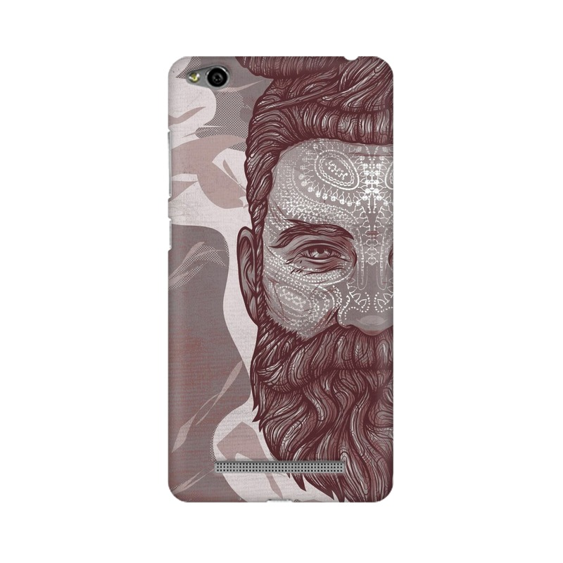 Beardo Man Xiaomi Redmi 3s Mobile Cover Case