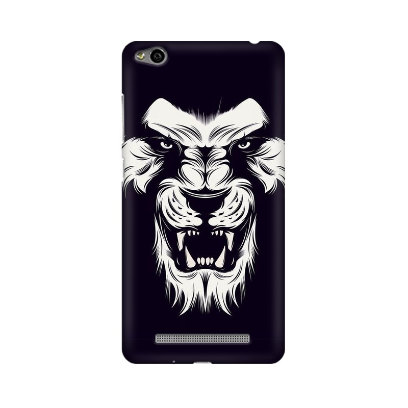Angry Wolf Xiaomi Redmi 3s Mobile Cover Case