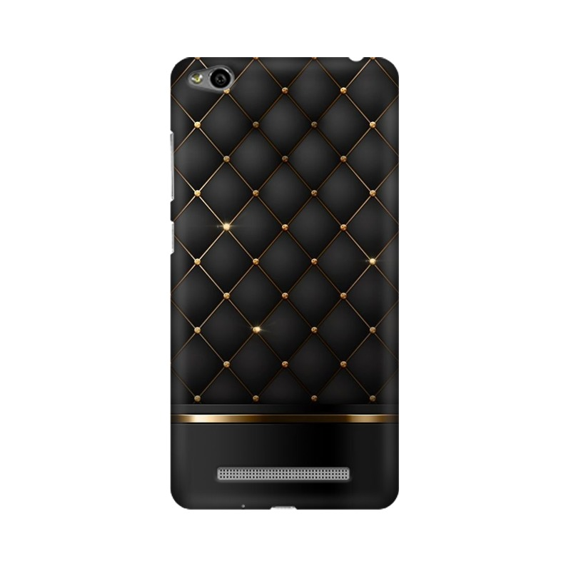 Black Gold Shine Texture Xiaomi Redmi 3s Mobile Cover Case
