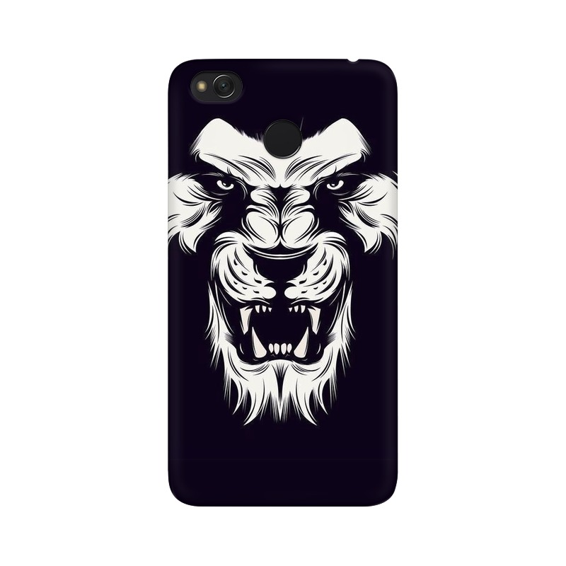 Angry Wolf Xiaomi Redmi 4X Mobile Cover Case