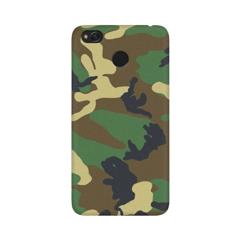 Army Texture Xiaomi Redmi 4X Mobile Cover Case