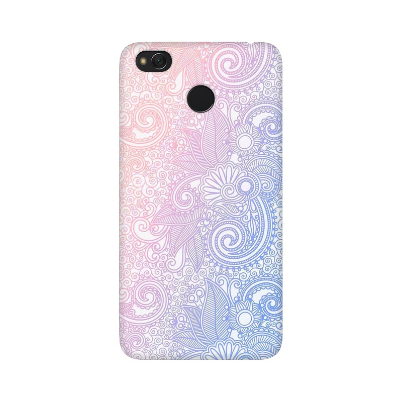 Beautiful rangoli Xiaomi Redmi 4X Mobile Cover Case
