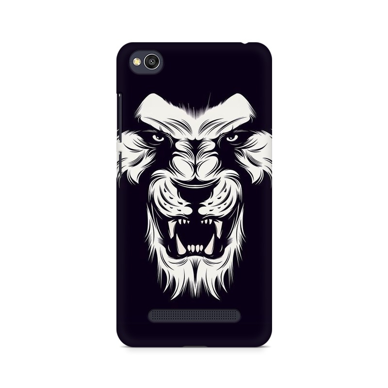 Angry Wolf Xiaomi Redmi 4a Mobile Cover Case