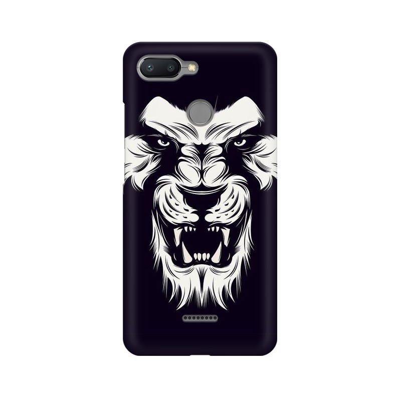 Angry Wolf Xiaomi Redmi 6 Mobile Cover Case