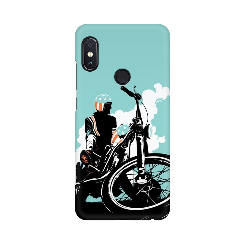 American Biker Xiaomi Redmi Note 5 Pro Mobile Cover Case