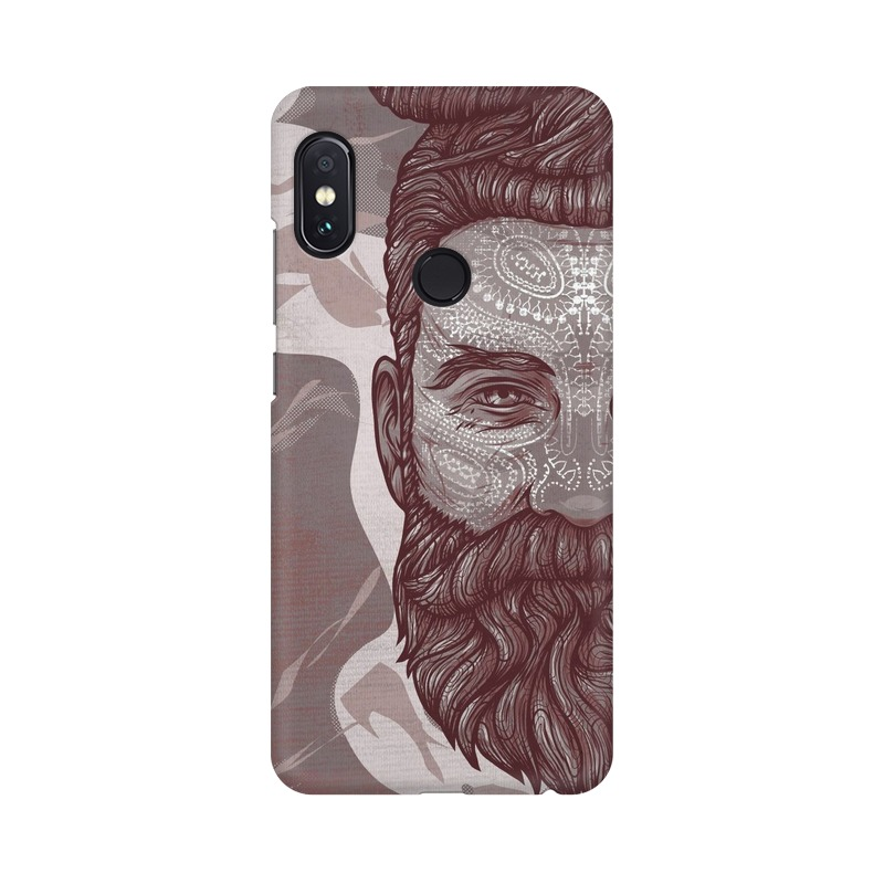 Beardo Man Xiaomi Redmi Note 5 Pro Mobile Cover Case