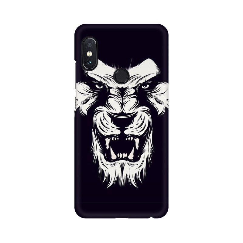 Angry Wolf Xiaomi Redmi Note 5 Pro Mobile Cover Case
