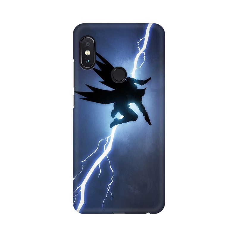 Batman Thunder Xiaomi Redmi Note 5 Pro Mobile Cover Case