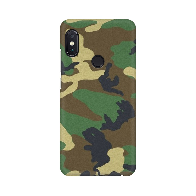 Army Texture Xiaomi Redmi Note 5 Pro Mobile Cover Case