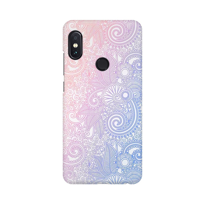 Beautiful rangoli Xiaomi Redmi Note 5 Pro Mobile Cover Case