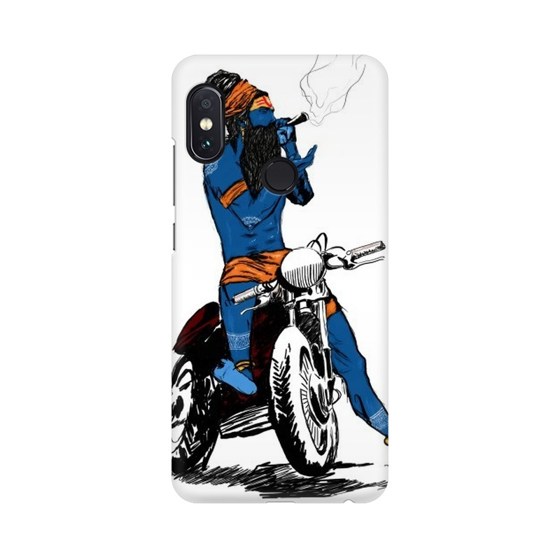 Biker Shiva Xiaomi Redmi Note 5 Pro Mobile Cover Case